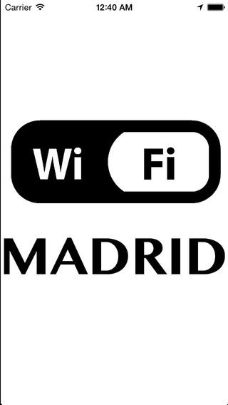 Wifi Spots Madrid