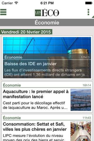Les ÉCO Maroc screenshot 4