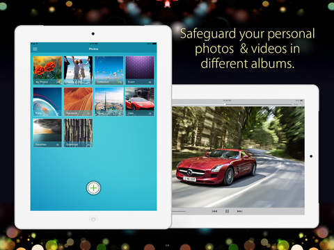 Secure Photo Gallery Pro for iPad