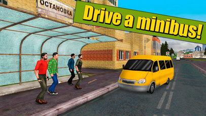 Russian Minibus Simulator 3D Full screenshot 1