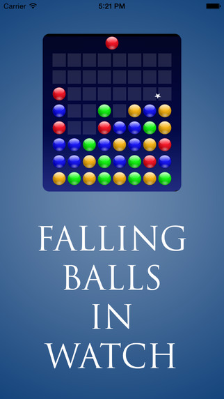 Falling Balls in Watch