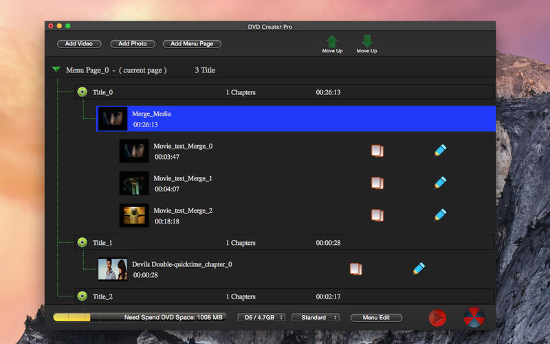 DVD Maker Pro - Video Photo Burn Lite Screenshot - 1