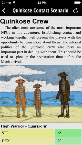 FSpace Roleplaying Concise Rulebook v4.2 iPhone Screenshot 4