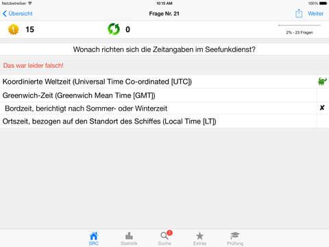 Funkschein SRC iPad Screenshot 3
