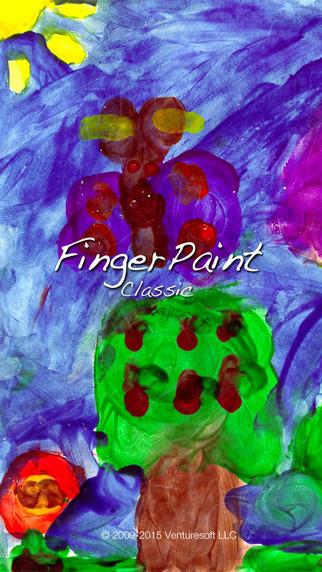 FingerPaint Classic Glow Color Paint and Draw