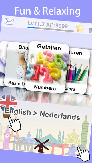Learn Dutch with Baby FlashCard Dictionary by Ling