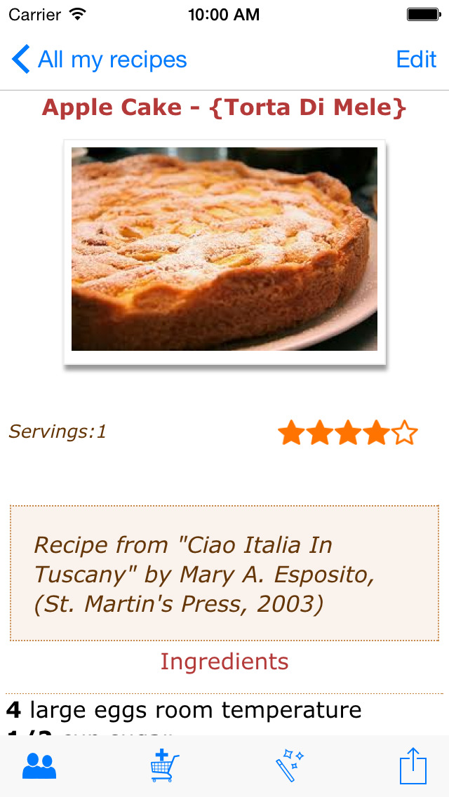 Handy CookBook screenshot 3