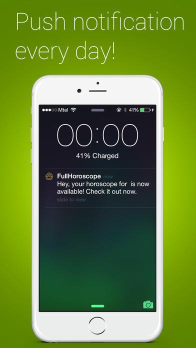 Full Horoscope iPhone Screenshot 3
