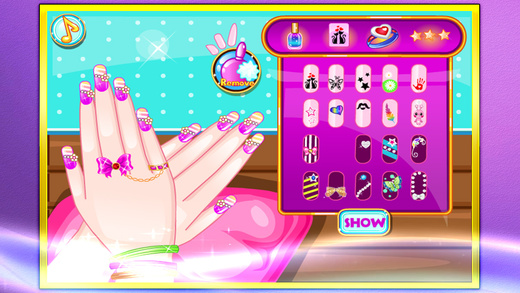 Nail design salon