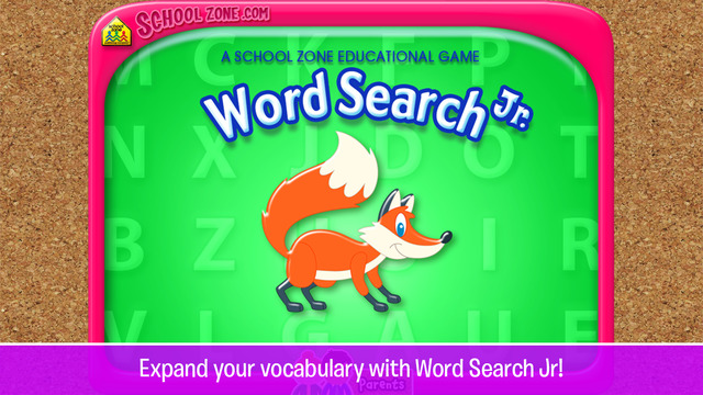 Word Search Jr. - An Educational Game from School Zone