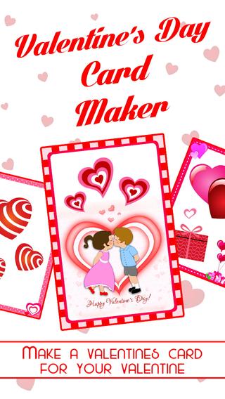 Romantic Card Maker - Love Cards Romantic Ringtones SMS Valentine Countdown
