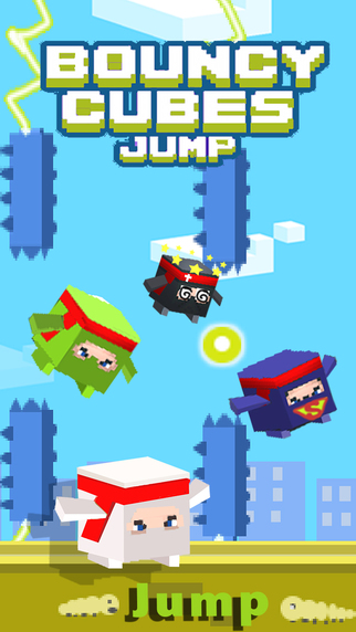 Bouncy Jump - Bock Crossy Tappy Jumping on the City