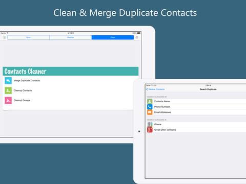 玩免費生產應用APP|下載Google联系人同步备份及清理助手专业版 (Contacts Sync, Backup, Clean for iCloud, Google+) app不用錢|硬是要APP