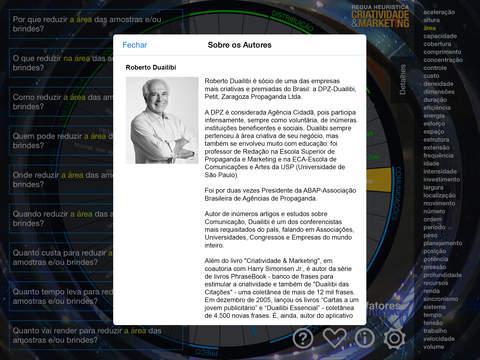 Régua Heurística iPad Screenshot 4
