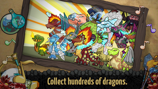 Magic Dragon - Discover Monsters Dragons