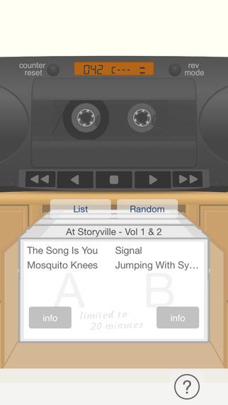 SilentBonusTrackLite - cassette player