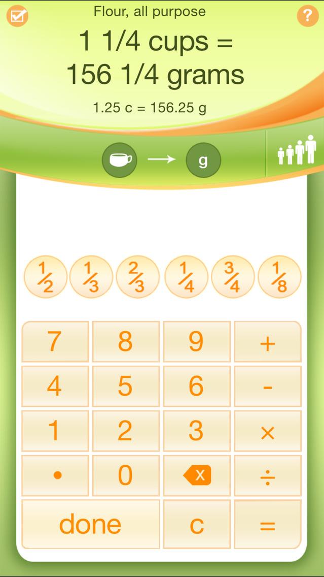 Kitchen Calculator PRO app image