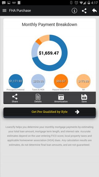 CLA Mortgage Calculator App