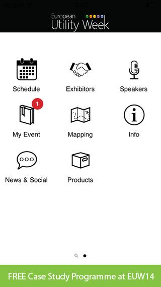 EUW14 Event Networking App