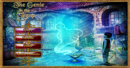 Genie in the Lamp - Free Hidden Object Game