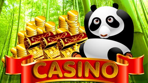 Panda in Las Vegas Casino Game Fish Farm Slots Bubble Video Pop Free