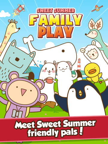 Sweet Summer Family Play: 25 party games