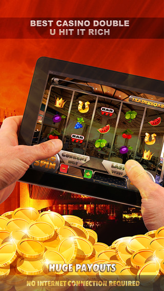 Amazing Best Casino Double U Hit it Rich Slots Machines - FREE Slots Games Casino Tournament