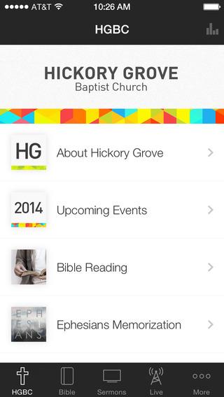 Hickory Grove Baptist Church