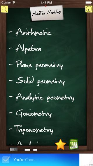 NexTer Maths Formulary LITE