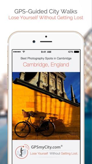 Best Photography Spots in Cambridge iPhone Screenshot 1