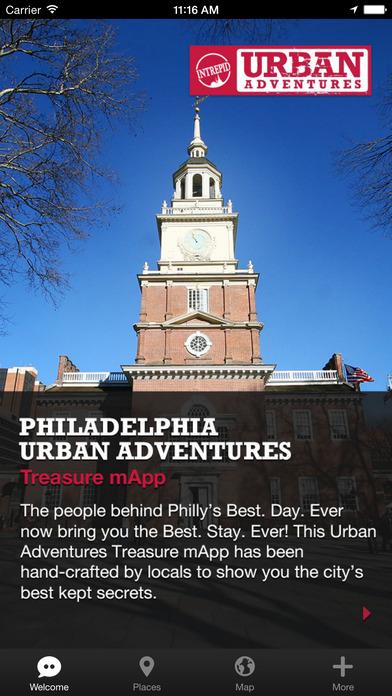 Philadelphia Urban Adventures - Travel Guide Treasure mApp