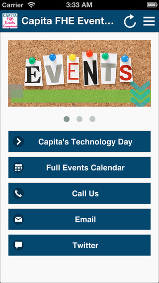 Capita FHE Events Companion