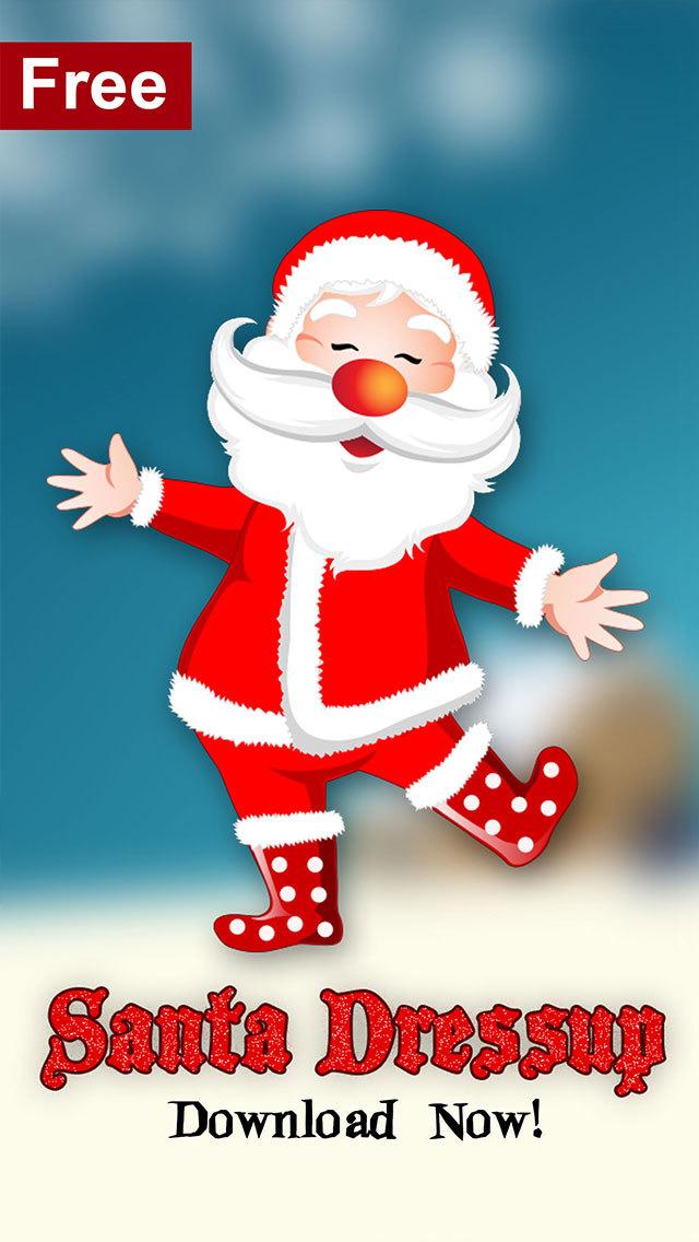 App shopper santa dress up make your own claus