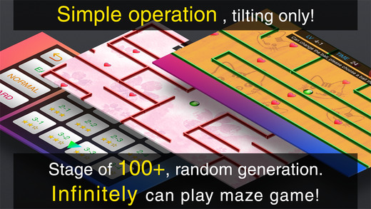 Scroll Maze2 - Ball Action Game