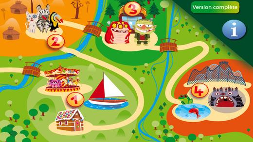 Jeux pour lire avec Sami et Julie Lite pour iPad