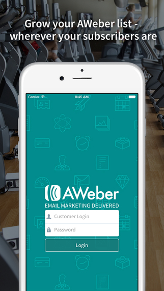 Atom - Add new subscribers to your AWeber account on the go