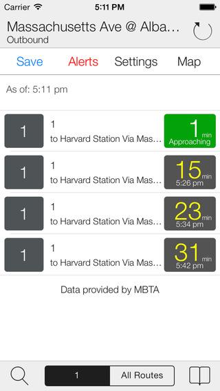Transit Stop: Boston MBTA Tracker