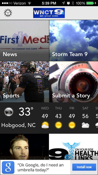 WNCT Mobile - Greenville North Carolina News Sports Weather
