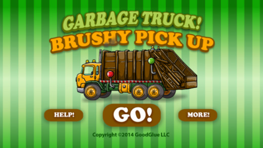 Garbage Truck: Brushy Pick Up