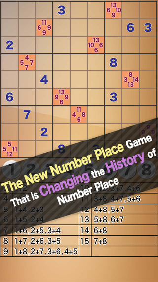 Hints Number Place 9x9