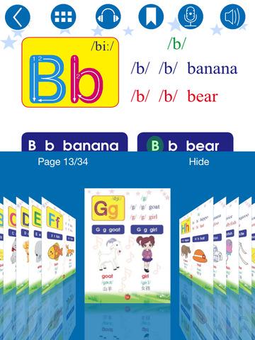 書籍必備免費app推薦|English Phonics for Grade 1 (英语发音针对一年级学生)線上免付費app下載|3C達人阿輝的APP