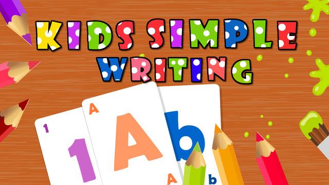 Kids Simple Writing