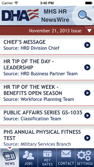 MHS HR NewsWire