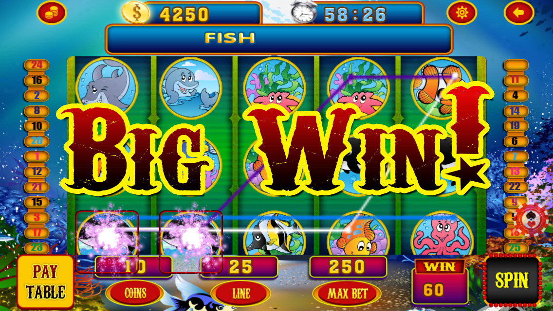 big fish slot machines
