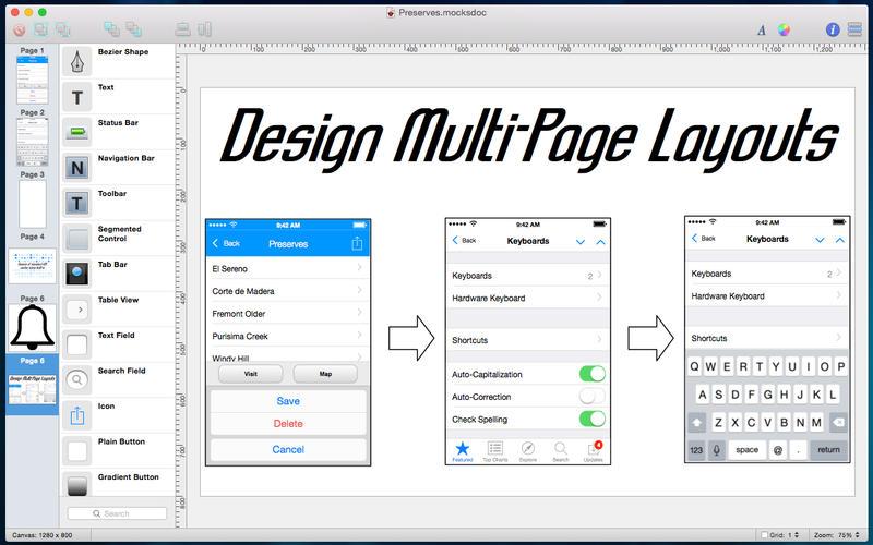 Mocks for Mac 2.6.5 破解版 – 优秀的移动UI原型设计工具-麦氪派(WaitsUn.com | 爱情守望者)
