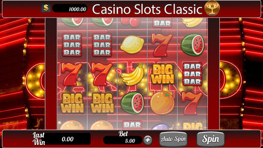 Casino Slots Classic pro - win progressive chips with lucky 777 bonus Jackpot