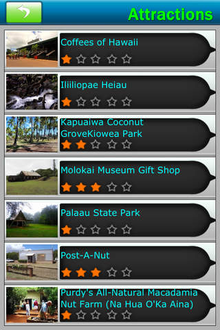Malokai & Lanai Island Offline Map Travel Guide screenshot 3
