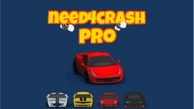 Need4Crash Pro - SUPERCAR CRASH
