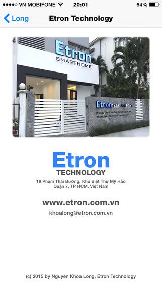 Etron Smarthome