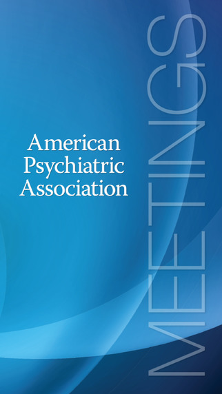American Psychiatric Association Meetings